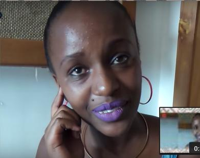 Femi One with no make up