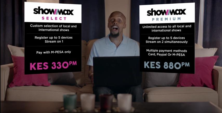 Showmax AffordablePackages
