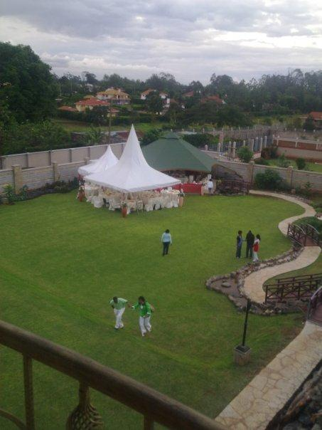 kiuna9a - Leaked aerial view of Bishop Kiuna's palatial mansion in Runda (Video)