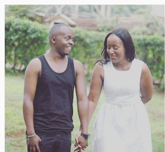 K24 Journalists Job Mwaura and Nancy Onyancha