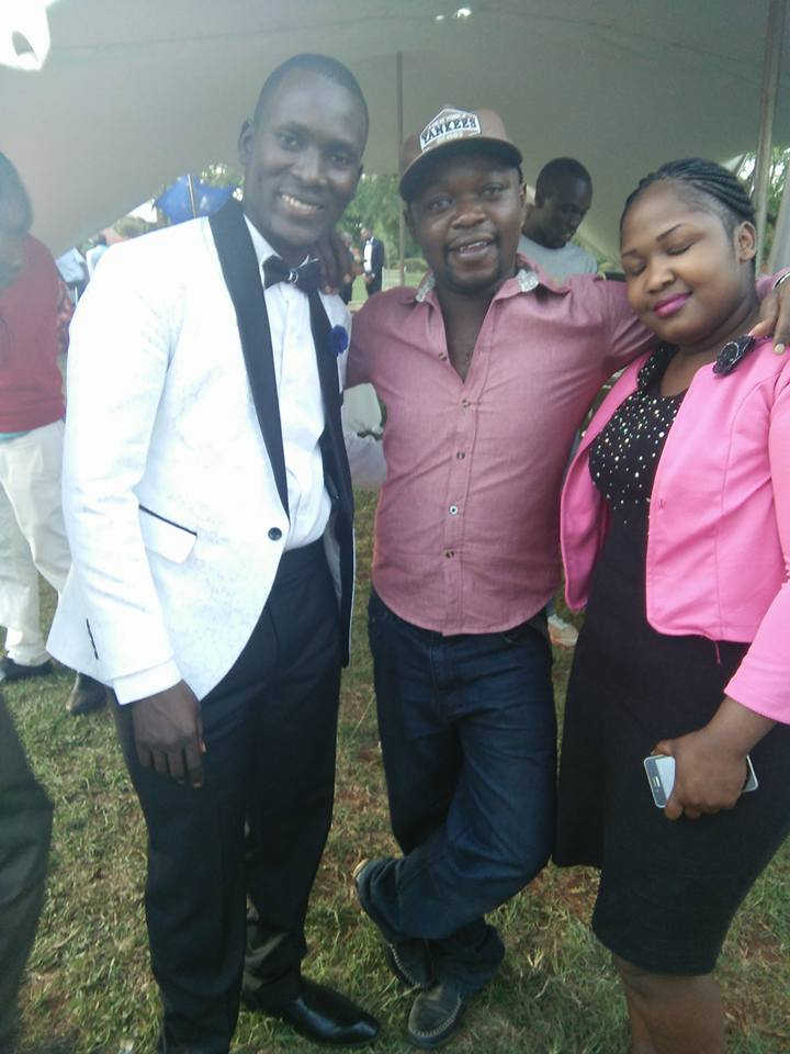 Comedian Ajo Mbuta Ties The Knot With His Girlfriend
