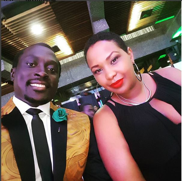 Collins Injera and his wife