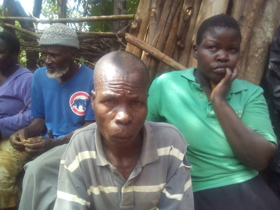Otieno Ong%E2%80%99ondo 45 - Photos of man under spell after being slapped with dead human hand