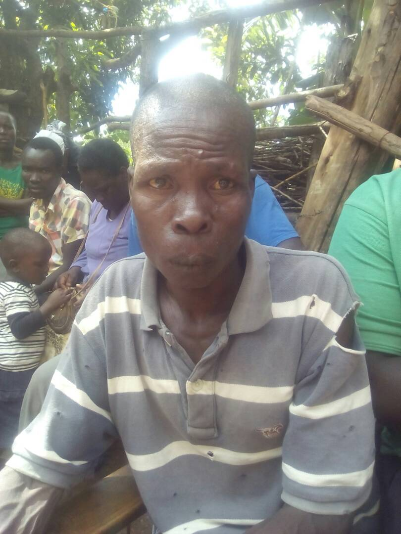 Otieno Ong%E2%80%99ondo 451 - Photos of man under spell after being slapped with dead human hand