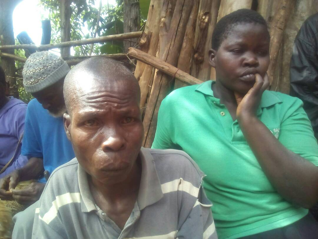 Otieno Ong%E2%80%99ondo 452 - Photos of man under spell after being slapped with dead human hand