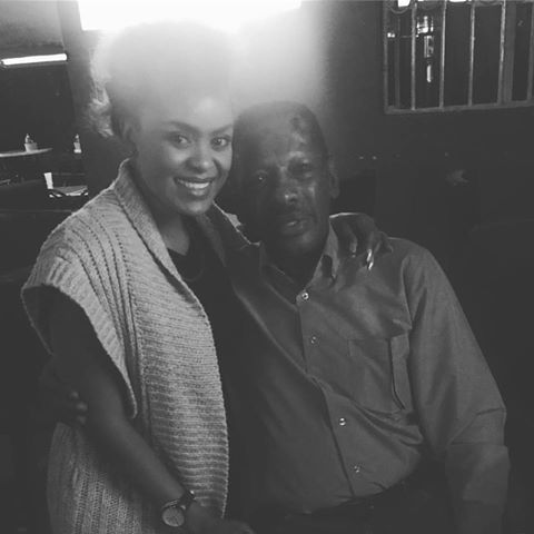 Avril and boxing legend Philip Waruinge 1 - Avril reveals her family roots! Her grandpa is a boxing legend