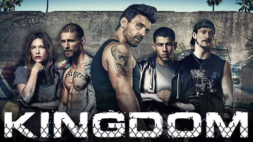 "The cast of the ""Kingdom"" series."