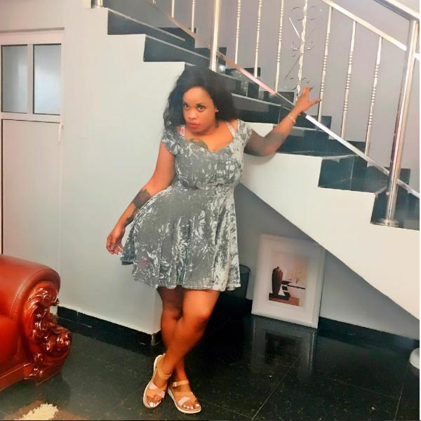 bridget achieng in lagos2