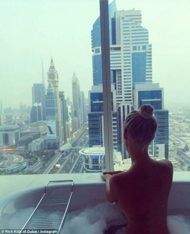 The Duchess Dubai rich kid1
