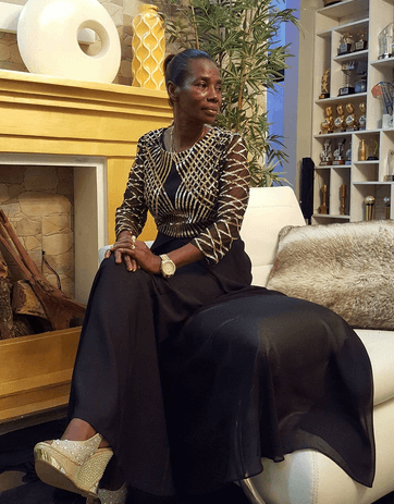 mama dangote - See How Diamond Platnumz's Mother Has Been Slaying After Hitting 50 (PHOTOS)