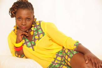 nyota nd 326x216 - Lady Boss! Nyota Ndogo shows off her Ksh 10m rentals that are almost completed (Video and photos)