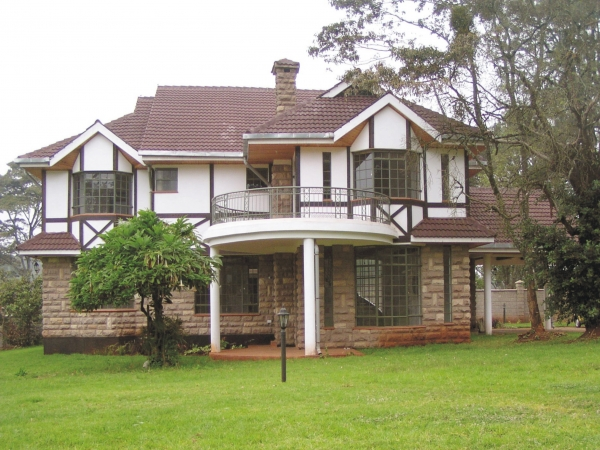 Check out photos of fidel odinga 39 s multi million home in for Best house designs in nairobi