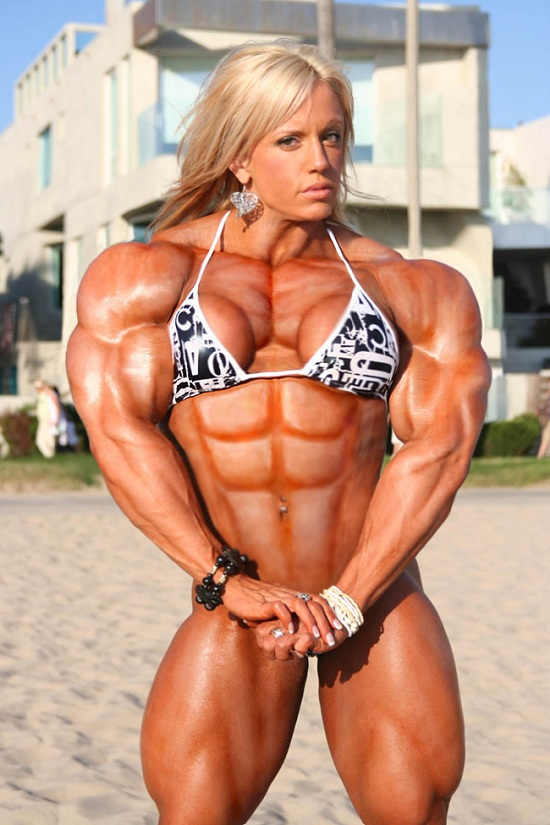 sexy women body builders