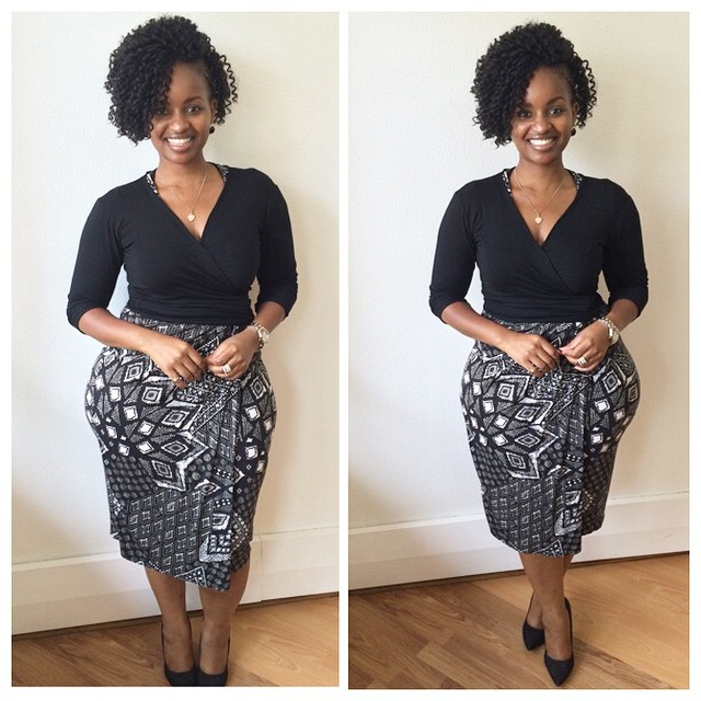 Grace Msalame Looks Supersexy In Her Work Out Outfit