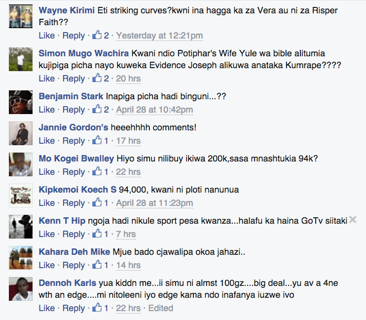 Kenyans Are Hilarious, The Comments on This Safaricom