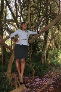 brenda 2 - Meet The Only Kenyan Journalist Who Is Married To A Famous Footballer (PHOTOS)