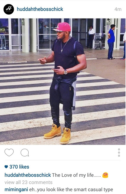 huddah guy - Pesa otas! Diamond's ex bodyguard Mwarabu Fighter now working for Huddah's ex