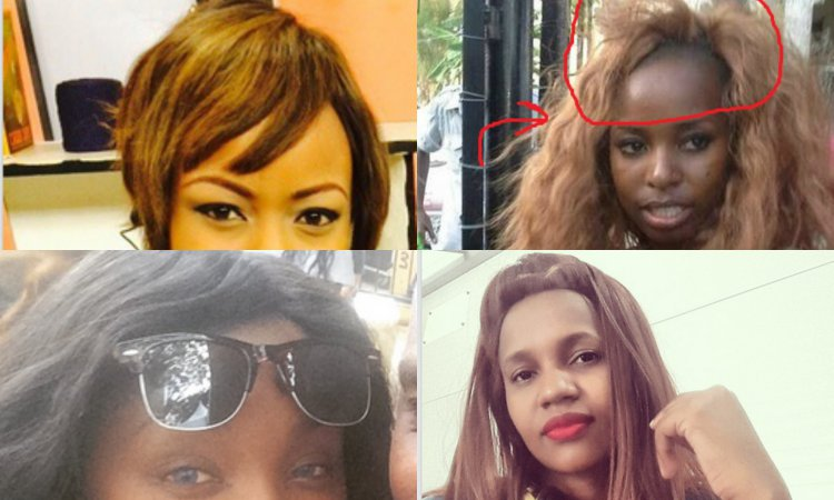 Awe Inspiring 5 Female Celebrities Who Look Horrible In Wigs And Weaves Hairstyle Inspiration Daily Dogsangcom