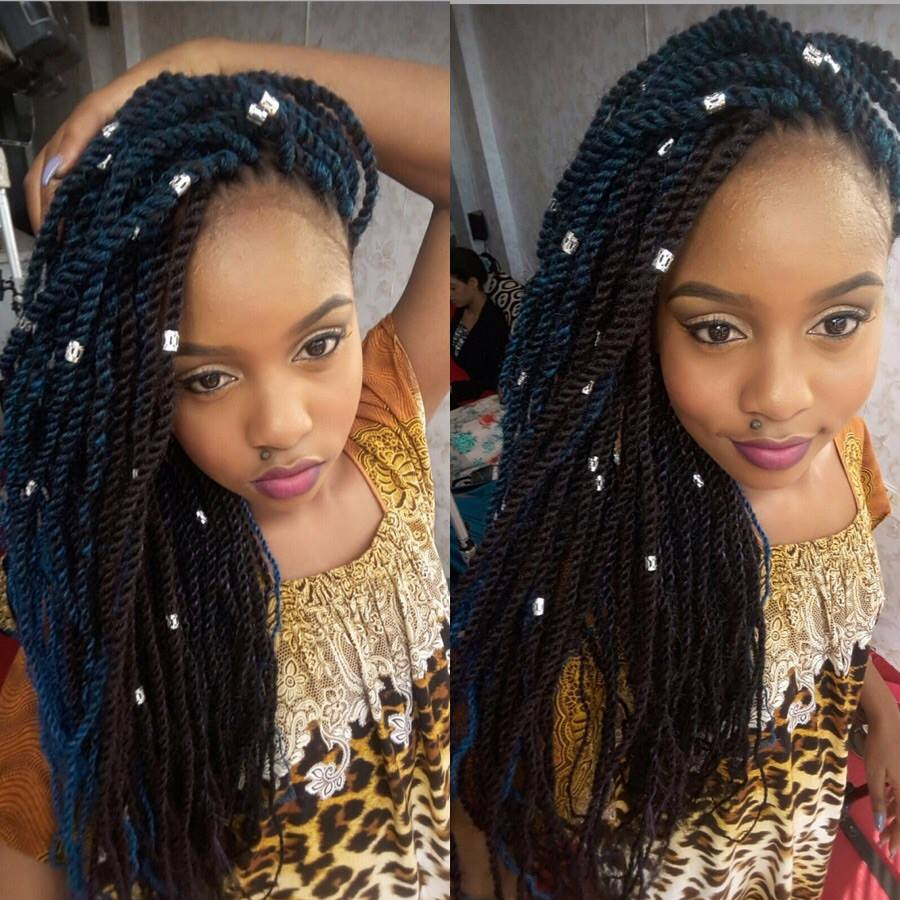 the hairstyle that every kenyan girl should try out right now