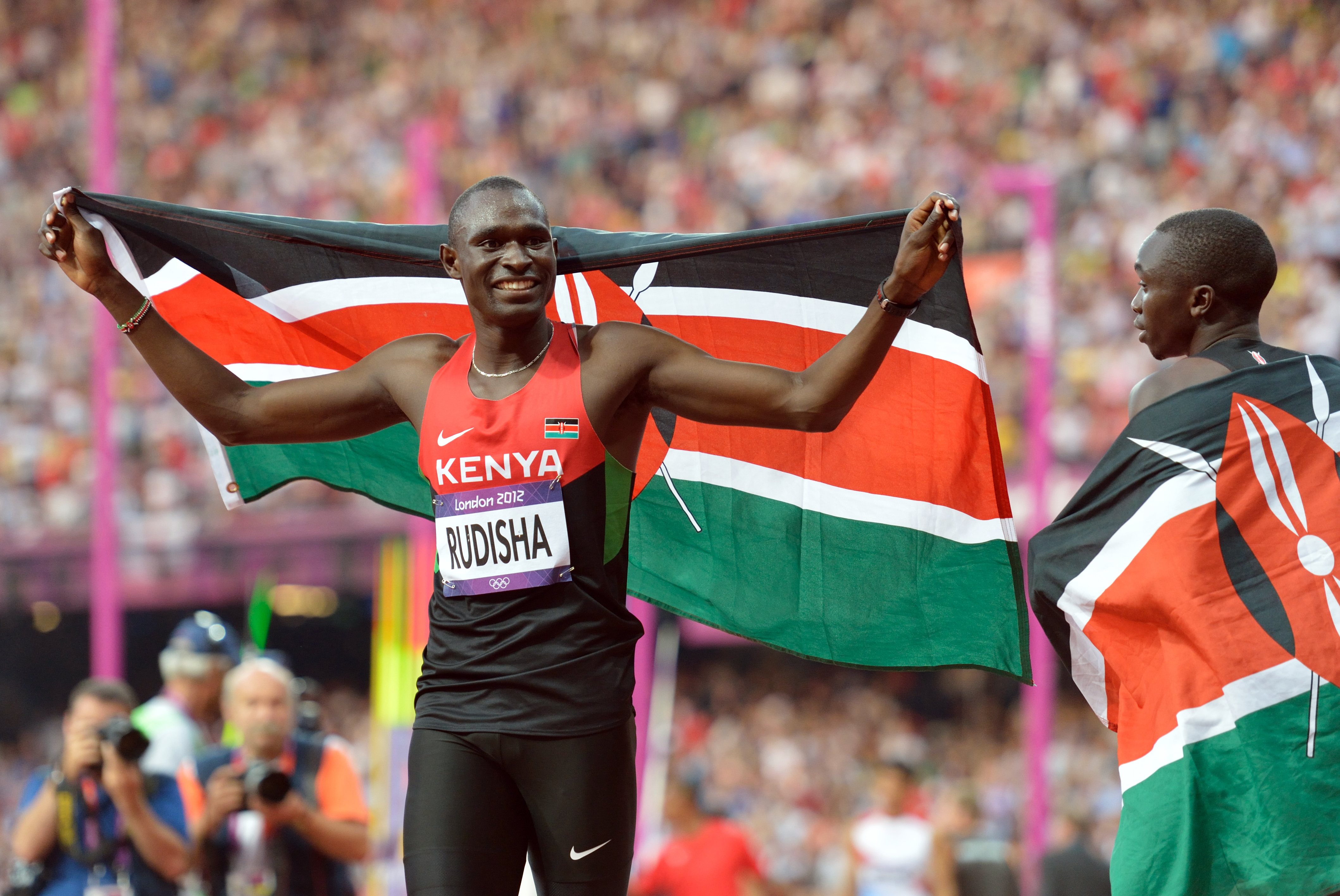 David Rudisha1 - Oh no! Olympic champion David Rudisha involved in an accident (Photos)