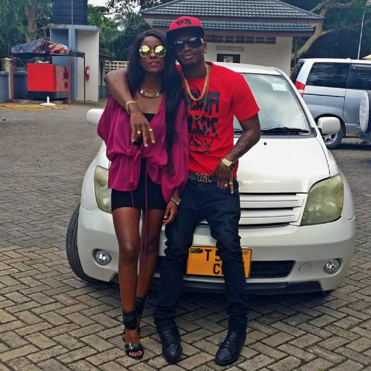Diamond Platnumz New Car