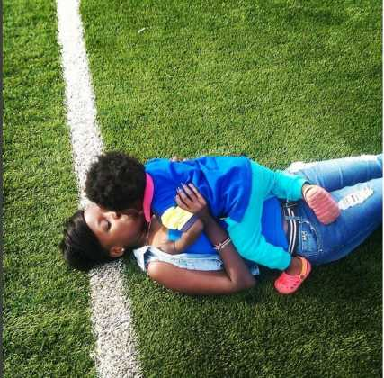 Jacque Maribe 43 427x420 - From Lilian Muli To Lulu Hassan: Favorite TV Anchors With Their Children