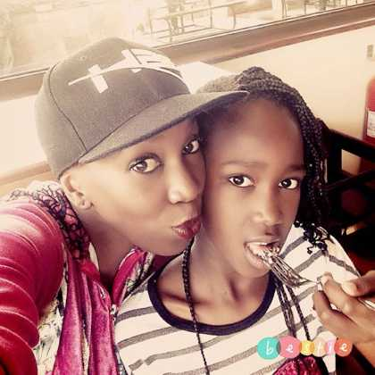 Wahu And Duaghter Tumiso