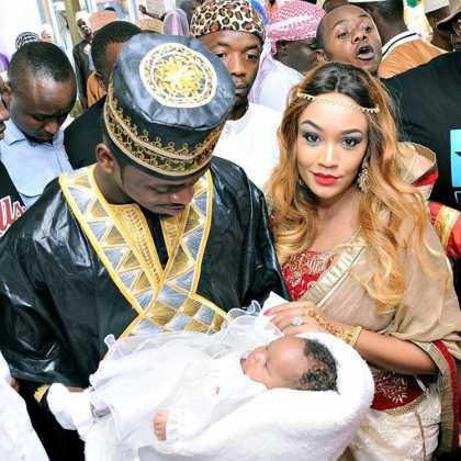 Diamond Tifah 132a12 420x420 - Rare Moments Of East Africa's Best Celebrity Dads With Their Babies