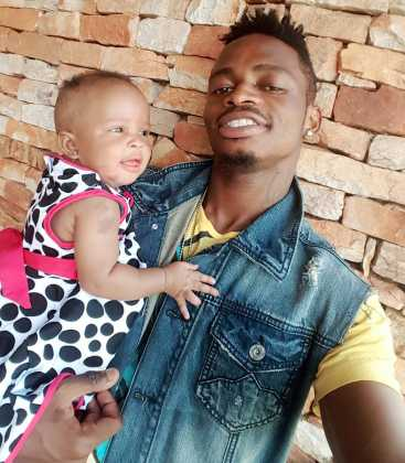 Diamond Tifah 2 367x420 - Rare Moments Of East Africa's Best Celebrity Dads With Their Babies