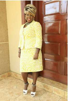Kathy Kiuna 44 283x420 - Photos Of Kathy Kiuna's Shoes Which Can Pay Your Rent For A Whole Year