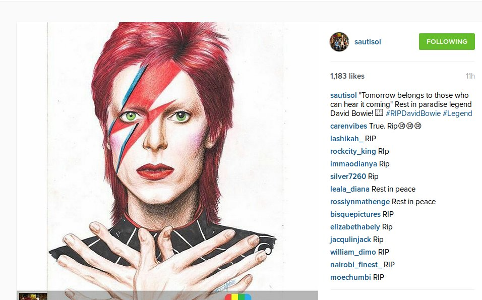 David Bowie Fame Space Oddity