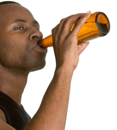 Image result for black Man drinking