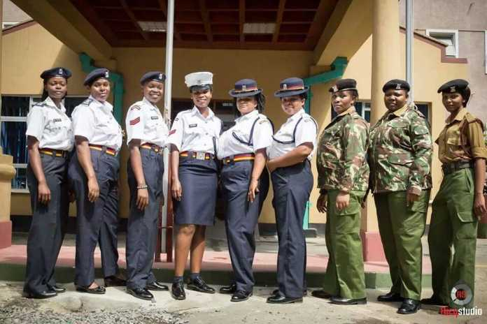 Image result for beautiful police women in kenya