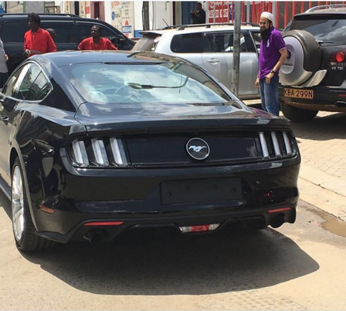 Check Out The Only Mustang Coupe In Kenya Weh Photo Mpasho News
