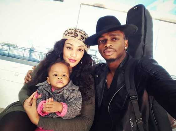 Diamondzaritifa 562x420 - Rare Moments Of East Africa's Best Celebrity Dads With Their Babies