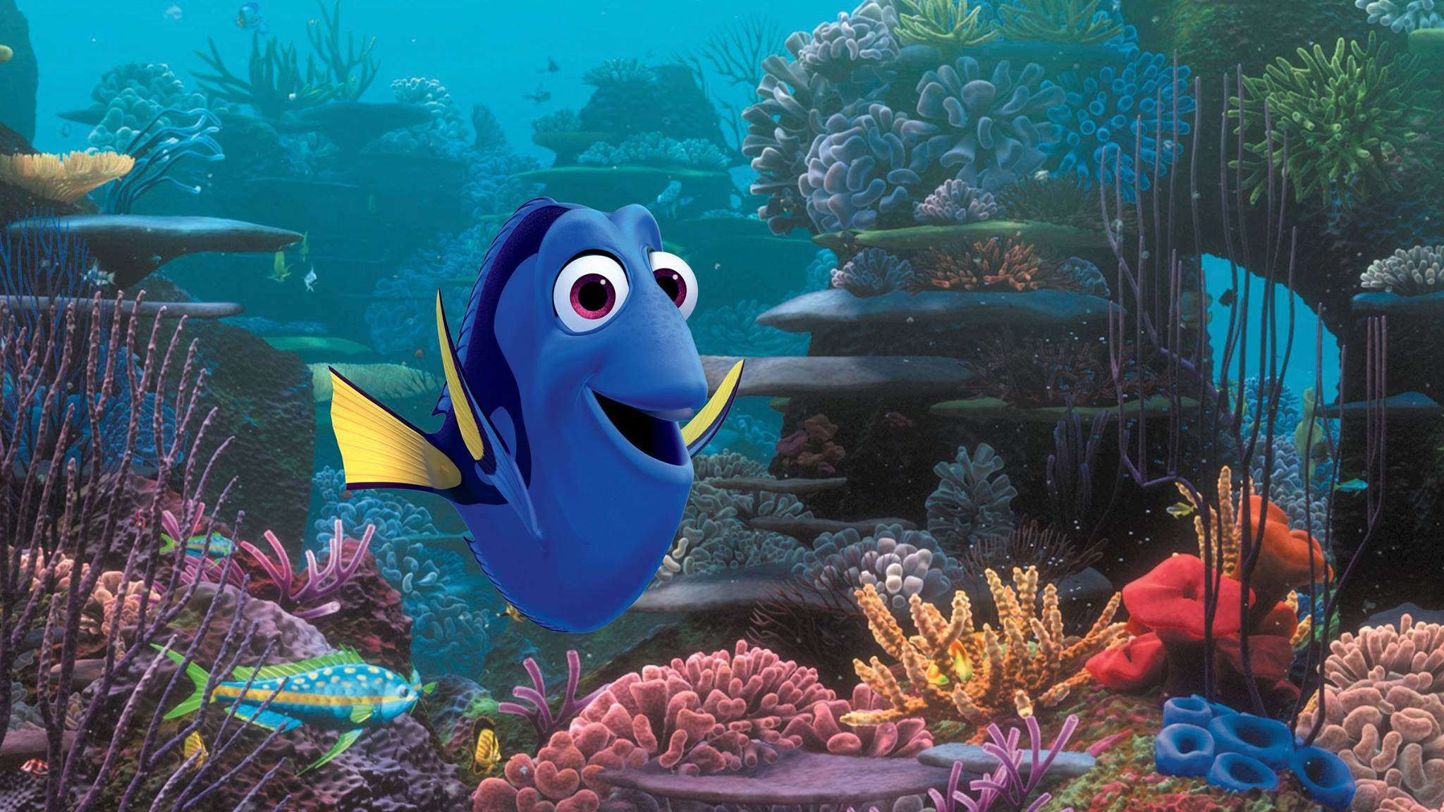 Finding Dory - Cover