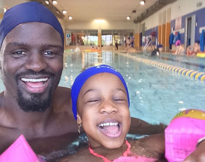 MacDonald Marigas Princess3 - His princess: Mariga shares photo of daughter wearing expensive golden dress