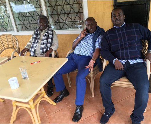 William Kabogo - Never Seen Before! Photo of Governor Kabogo's Dad That Has Everyone Talking?