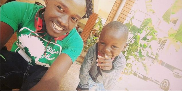 Bahati Kevin and Bahati Morgan 2 - Where Did Bahati's Adopted Daughter, Purity, Go To? (PHOTO)