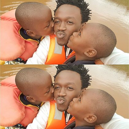 Bahati KIDS 420x420 - Where Did Bahati's Adopted Daughter, Purity, Go To? (PHOTO)