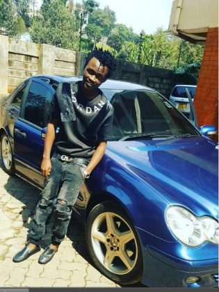 Bahati swag 315x420 - 23 Entertainers who are not afraid to show off their rides