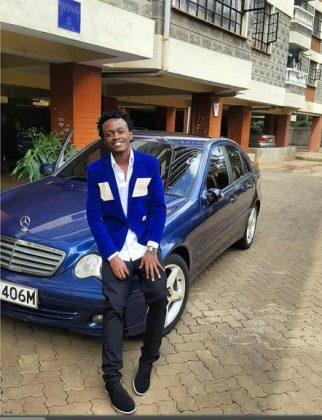 bahati swag6 322x420 - 23 Entertainers who are not afraid to show off their rides