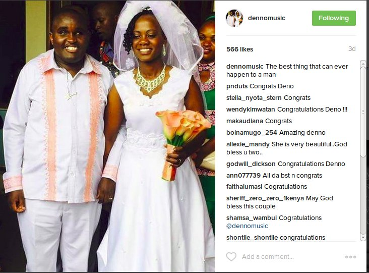 Denno Musician - Awww!!! Juicy Details Of How Denno Met The Love Of His Life