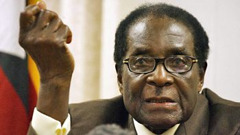 Robert Mugabe73 350x197 - Lala salama! Here's the last photo of Robert Mugabe before he died