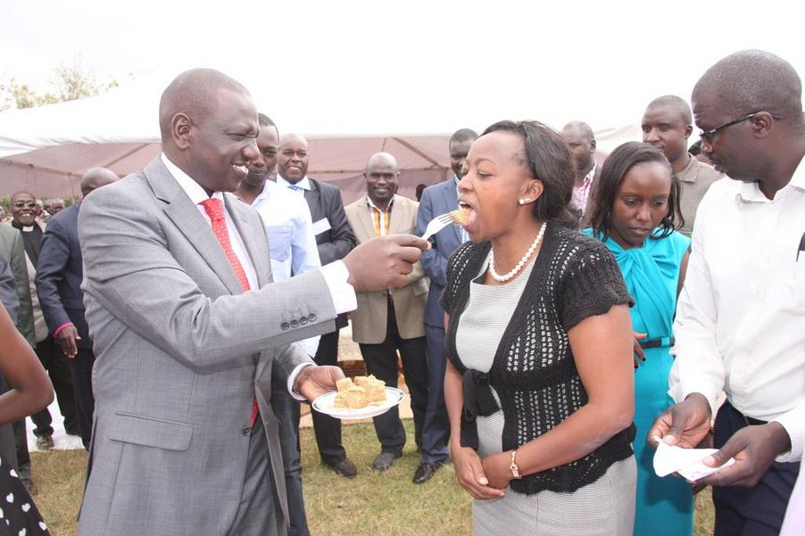 Hustlers! DP Ruto and wife Rachel steal the show at Mashujaa Day event (Photos)