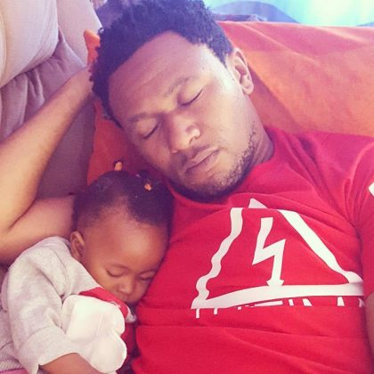 14068323 1230987293599548 6594915298393891071 n 420x420 - Rare Moments Of East Africa's Best Celebrity Dads With Their Babies
