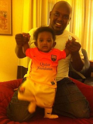 185772 10151430892466518 794164011 n 314x420 - Rare Moments Of East Africa's Best Celebrity Dads With Their Babies