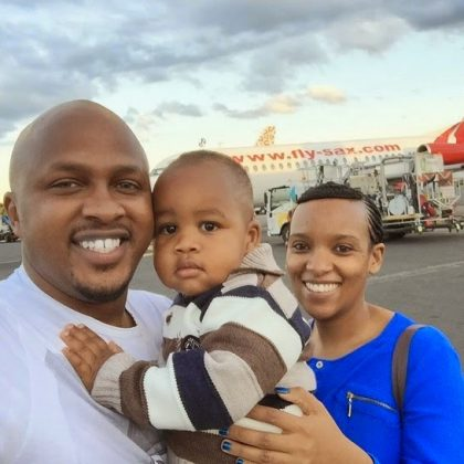 Dj Creme on Vacation 1 420x420 - Rare Moments Of East Africa's Best Celebrity Dads With Their Babies