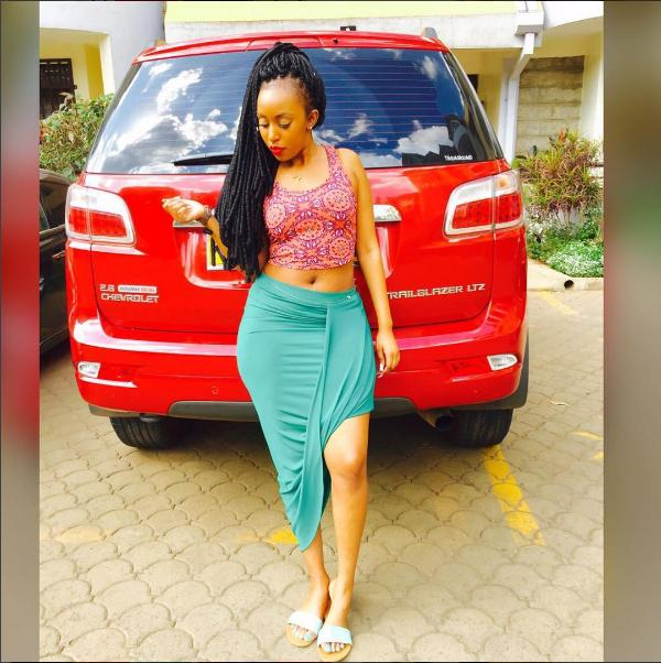Kenyan Socialite Exposed For Running To Witchdoctor For An Sponsor-7227