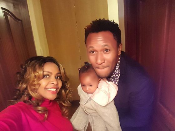 size8 ladasha 560x420 - Rare Moments Of East Africa's Best Celebrity Dads With Their Babies